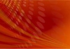 Roter Aufflackernleuchteauszug Stockfoto