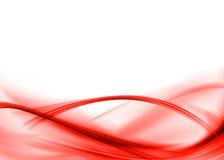 Roter Auszug Lizenzfreie Stockfotografie