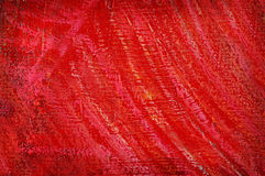 Roter Auszug gemalt lizenzfreies stockfoto
