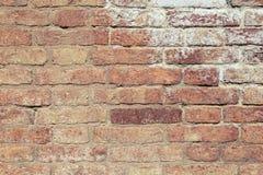 Roter Backsteinmauerbeschaffenheitshintergrund Lizenzfreies Stockfoto