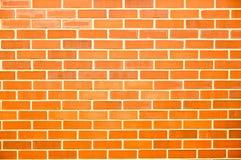 Roter Backsteinmauerhintergrund Lizenzfreies Stockfoto