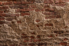 Roter Backsteinmauerhintergrund Lizenzfreie Stockfotos