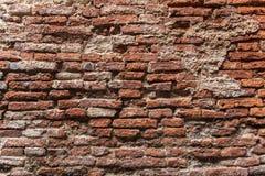 Roter Backsteinmauerhintergrund Stockbilder