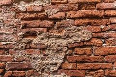 Roter Backsteinmauerhintergrund Stockfotografie