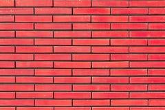 Roter Backsteinmauerhintergrund Lizenzfreies Stockbild
