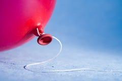 Roter Ballon Stockbild