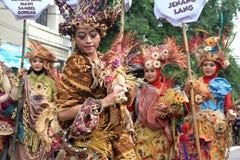 Roter Batik Stockfoto