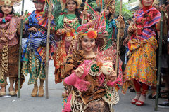 Roter Batik Lizenzfreies Stockbild