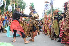 Roter Batik Lizenzfreie Stockfotografie
