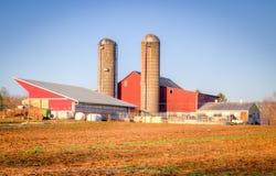Roter Bauernhof Lizenzfreie Stockfotografie