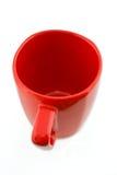 Roter Becher Lizenzfreies Stockbild
