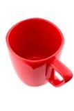 Roter Becher Stockfoto