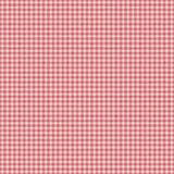 Roter überprüfter nahtloser Hintergrund des Ginghamplaids Stockfoto