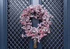 Roter Berry Wreath Stockbild