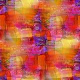 Roter blauer Hintergrund des Künstlers, Kunst nahtlos Stockfotografie
