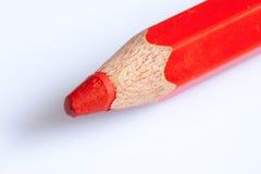 Roter Bleistift Lizenzfreies Stockfoto