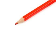 Roter Bleistift Lizenzfreies Stockbild