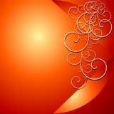 Roter Blumenhintergrund vektor abbildung