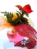 Roter Blumenstrauß Lizenzfreies Stockfoto