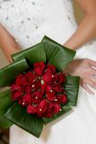 Roter Blumenstrauß Stockfotografie