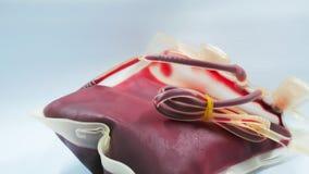 Roter Blutbeutel Lizenzfreies Stockfoto
