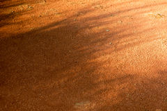 Roter Boden Stockfoto