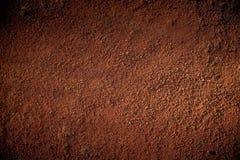 Roter Boden Stockbild