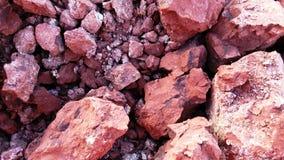 Roter Boden Stockfotografie