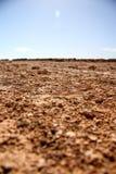 Roter Boden in Australien lizenzfreies stockbild