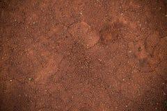 Roter Boden (Schmutz) Lizenzfreies Stockbild