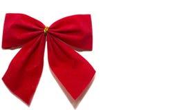 Roter Bogen für Geschenk lizenzfreie stockfotos