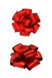 Roter Bogen zwei Stockbild