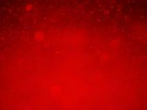 Roter bokeh Zusammenfassungshintergrund und -beschaffenheit Lizenzfreies Stockbild