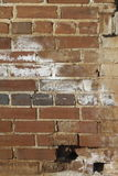 Roter Clay Brick Wall Grunge Texture Stockbild