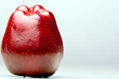 Roter-Deliciousapfel auf der linken Seite Lizenzfreies Stockbild