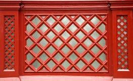 Roter Diamond Screen Stockfotos