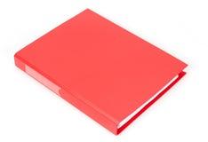 Roter Dokumentenkasten Stockfotografie