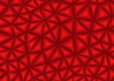 Roter Dreieckzusammenfassungshintergrund Stockfotografie