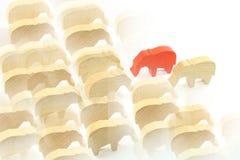 Roter Elefant stockbild