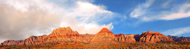 Roter Felsen Nevada Lizenzfreies Stockfoto