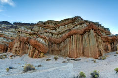 Roter Felsen-Schlucht-Nationalpark, Kalifornien stockbilder