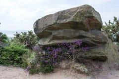 Roter Felsen Thurstaston allgemeines wirral Großbritannien Lizenzfreies Stockbild