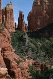 Roter Felsen von Steeples Lizenzfreie Stockfotos