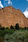 Roter Felsengarten der Götter Lizenzfreie Stockbilder
