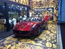 Roter Ferrari Lizenzfreie Stockfotos