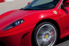 Roter Ferrari F430 F1 Lizenzfreies Stockfoto