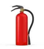 Roter Feuerlöscher Stockbild