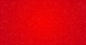 Roter flackernder geschlungener festlicher Hintergrund vektor abbildung