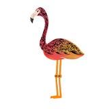 Roter Flamingo Lizenzfreie Stockbilder