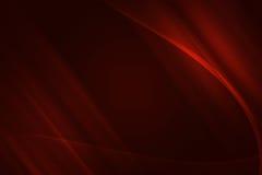 Roter Fractalhintergrund Lizenzfreie Stockfotografie